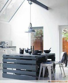 pallet kitchen island