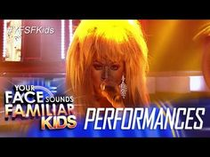Your Face Sounds Familiar Kids: Lyca Gairanod as Tina Turner - Proud Mary - YouTube
