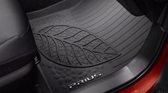 Genuine Toyota Prius All-Weather Floor Liners PT908-47165-20.
