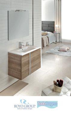 Conjunto mueble de ba o onix royo lavabo espejo 199 - Mueble bano online ...
