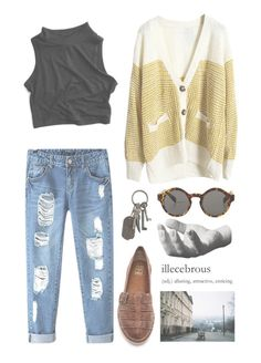 """Roxanne"" by sierrabrett44 ❤ liked on Polyvore featuring Chicnova Fashion, Frye, Monki, Areaware and AllSaints"