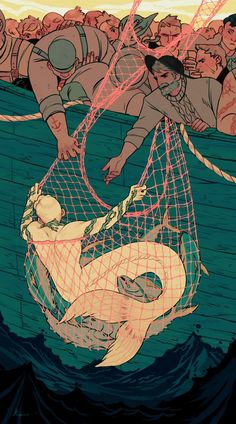"Sara Kipin on Twitter: ""Catch and Release #illustration… """