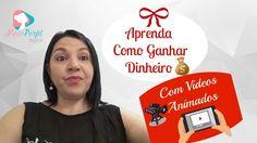 Aprenda A GANHAR DINHEIRO Com VÍDEOS  ANIMADOS   Teresa Tavares