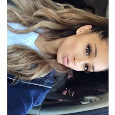 ariana grande eyes makeup hair