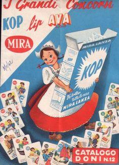 le figurine Mira Lanza