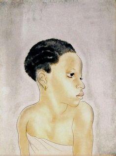 レオナール・フジタ アフリカの少女