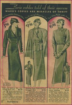 1933 NewVintageLady: Catalog Monday: The 'because I was too lazy to post yesterday,' edition