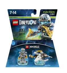 Lego Dimensions Fun Pack: Zane (Zane and Ninjacopter included)