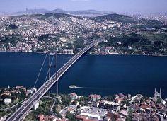 Cầu Bosphorus - Cây cầu xuyên châu lục