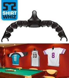 ShirtWhiz: The Sports Jersey and Shirt Wall Display Unit