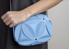IVY, NEW 3D-PRINTED CLUTCH BY ODO FIORAVANTI