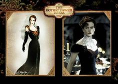 Moulin Rouge the Gothic Tower dress for Satin (Nicole Kidman) Moulin Rouge Outfits, Moulin Rouge Costumes, Theatre Costumes, Movie Costumes, The Best Films, Great Movies, Danse Macabre, Motionless In White, Cinema Film