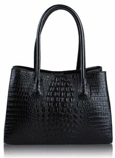 Ladies Vintage Black Faux Croc Leather Bag Womens Shoulder Handbag KCMODE KCMODE, To BUY or SEE just CLICK on AMAZON right here http://www.amazon.com/dp/B00HZOGZQW/ref=cm_sw_r_pi_dp_pZ0stb1MWA7V7W81