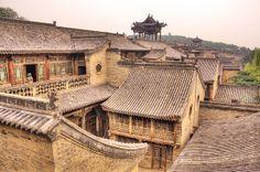 Pingyao in Shanxi Province_ China