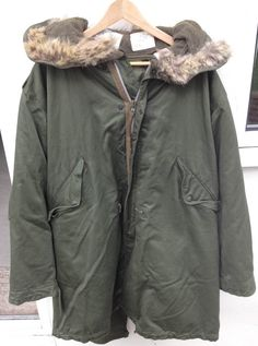 EX-48-1 First Fishtail Parka Ever Made By The US Army.. £2999 ...