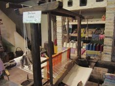 800 Year old loom at the village at Medieval Times Orlando