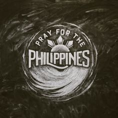 Our hearts and prayers go out those affected by Super Typhoon Haiyan. They can use all of our love and support in this time of need! (Chalk art by Sevenly artist Nathan Yoder)