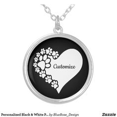 Personalized Black & White Pet Love Hearts Silver Plated Necklace Etsy Handmade, Handmade Items, White P, Black Felt, Love Heart, Dog Tag Necklace, Silver Plate, Great Gifts, Hearts