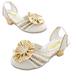 Tangled Ever After Rapunzel Wedding Shoes for Girls | Costumes & Costume Accessories | Disney Store