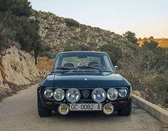 doyoulikevintage: 1971 Lancia Fulvia 1.3S - PaperPlastik&Glue;