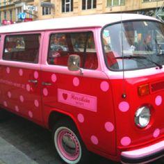Vw Bus in Vienna