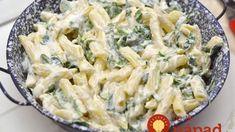 Luxusná a rýchla: Jemná syrová omáčka s mäsom a špenátom!