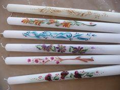 Στο εργαστήριο μας ( 2114093607) θα βρείτε Πασχαλινές Λαμπάδες ζωγραφισμένες στο χέρι , φτιαγμένες με πολύ μεράκι και η τιμή τους είναι ... Projects To Try, Painting, Easter, Blog, Design, Decorated Candles, Picasa, Paintings, Painting Art