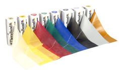 Theraband exercise bands are great for rehabilitative or resistive training.