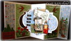 CraftEmotions Life & Garden - Card made by Nicole Dieltjes van Poppel