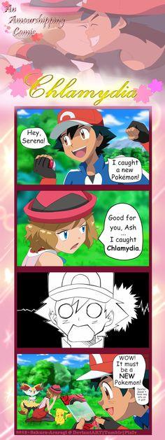 Chlamydia by Sakura-Araragi.deviantart.com on @DeviantArt  I give good credit to whoever made this