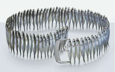 "(Belt made from sardines!) ""The Taste Of Fashion"" by Fulvio Bonavia"