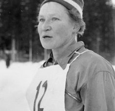"""Siiri Johanna """"Äitee"""" Rantanen (née Lintunen, born December 14, 1924) is a former cross-country skier from Finland who competed during the 1950s and early 1960s.  (1958: 10 km, 1962: 3 x 5 km"""
