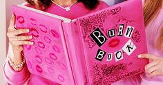 The Burn Book from Mean Girls