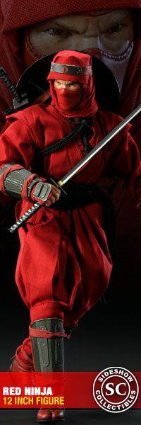 GI JOE Red Ninja 12-inch Figure