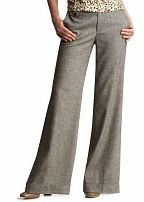 Trousers for Pear Shaped Women helps balance the hips and thighs
