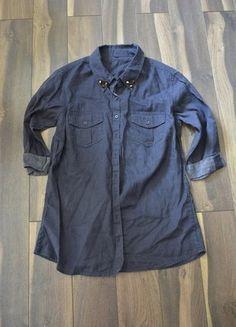 Kup mój przedmiot na #vintedpl http://www.vinted.pl/damska-odziez/koszule/18533462-koszula-ala-dzinsowa-marksspencer-rozm3840