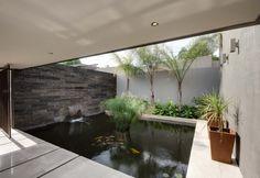 House Sed   Entrance   Nico van der Meulen Architects #Design #Koi #Pond #Architecture
