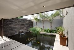 House Sed | Entrance | Nico van der Meulen Architects #Design #Koi #Pond #Architecture