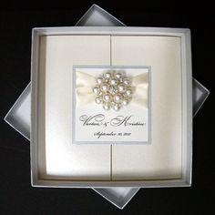wedding invitation - box invite