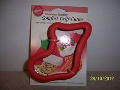 Unused Wilton Comfort Grip stainless steel cookie cutter retired Sold for $51.00 Bidders 18