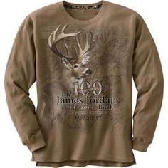 James Jordan 100th Anniversary Limited Edition Sand Long Sleeve T-Shirt #LegendaryWhitetails