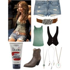 """Get the look : Julianne Hough in Footloose"" by madelynlewis on Polyvore"