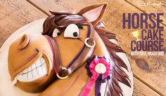Horse lovers will adore this Horse Cake, learn to make it now with Paul Bradford! #cake #horsecake