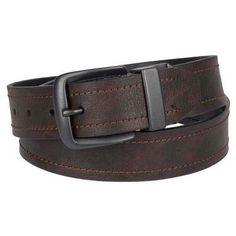 Dickies Men's Reversible Belt - Brown 38