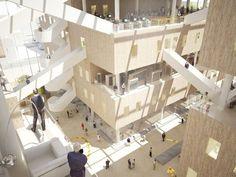NL architects: NUKII library, ljubljana - designboom | architecture & design magazine