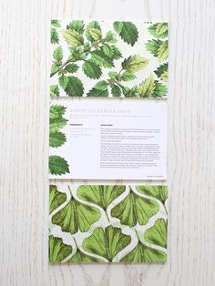 Herbal Recipe Cards