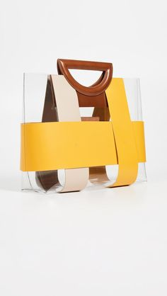 The right handbag adds the finishing touch to every outfit, and it's safe to say they are having a serious moment right now. Leather Bags Handmade, Handmade Bags, Clear Handbags, Vinyl Trim, Leather Bag Pattern, Diy Bags Purses, Transparent Bag, Clear Bags, Best Bags