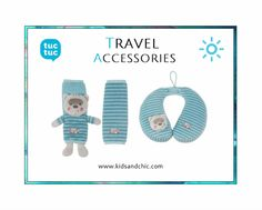 #shoponline at www.kidsandchic.com #baby #travel #pillow and baby seat #belt pads from #TucTuc collection Magic Forest. It will be the best baby gift and baby shower gift. #babygift #showergift #barcelona #castelldefels #shopping