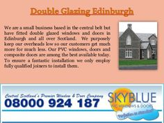 PVC windows and doors bring significant advantages in the quality of staying in and around your home. From upkeep being nearly non current to the warmer areas … Pvc Windows, Windows And Doors, Composite Door, Double Glazed Window, Edinburgh, Shades, House Renovations, Check, Rooms