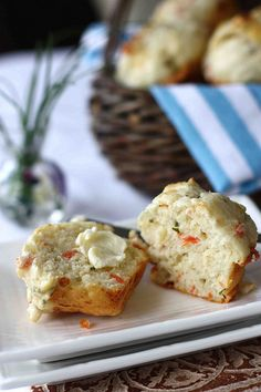 Smoked Salmon & Cheese Savory Muffin